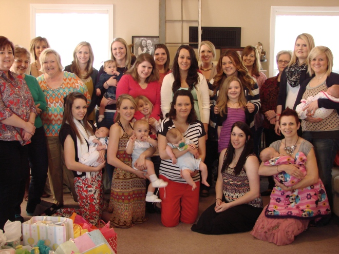 the Ladies (and babies)