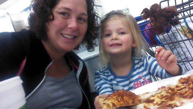 pizza at sams:)