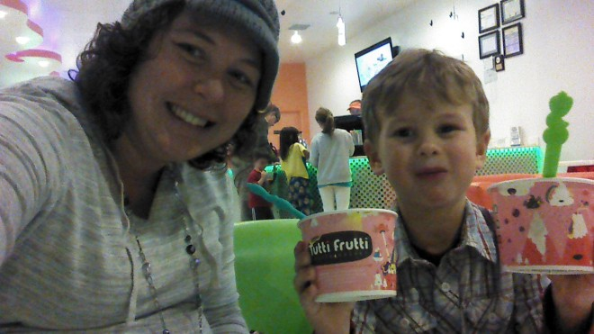 Then Fruitty Tutti for dessert!